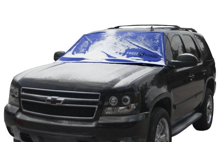 Frost Prevention Windshield Cover Blue Delk Products, Inc. 15289-Blue