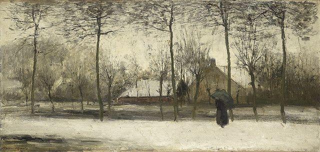 Maris, Willem (1844-1910) - 1875 Winter Landscape (Rijksmuseum, Amsterdam)