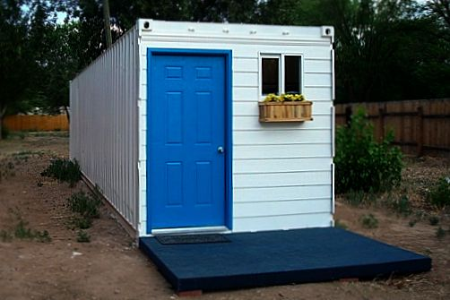 boxcar house from mexico