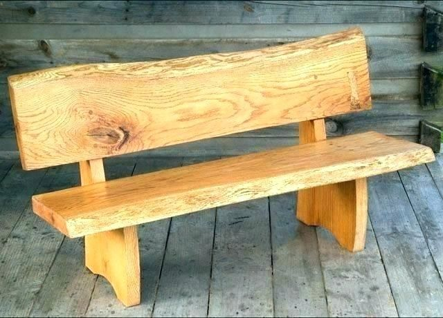 Wooden Bench Design Wood Benches Ors Rustic Or Bench Design