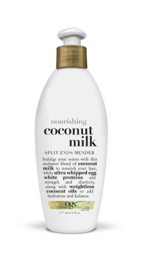 Organix Nourishing Split Ends Mender, Coconut Milk, 6 Ounce, http://www.amazon.com/dp/B000N773K0/ref=cm_sw_r_pi_awdl_ukvTsb1YC01J4