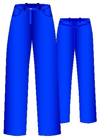 Moldes de Pantalones Jeans de Mujer   Moldes de Ropa y Sistemas de Diseño y Patronaje