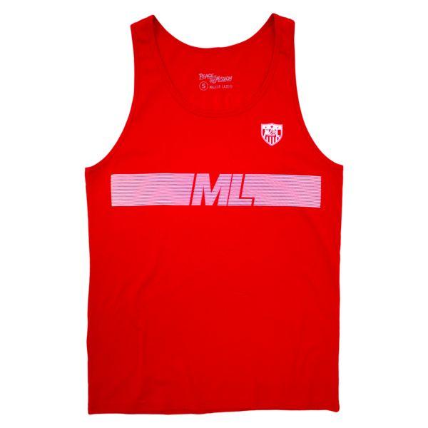 Lazer United Tank - Red | Major Lazer | Online Store, Apparel, Merchandise & More