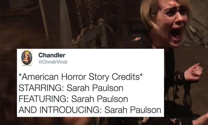 """24 Of The Funniest Jokes About The Latest Season Of """"American Horror Story"""""""