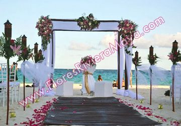 Flores para bodas - decoracion de evento | Gazebos, flores para iglesia  #weddings