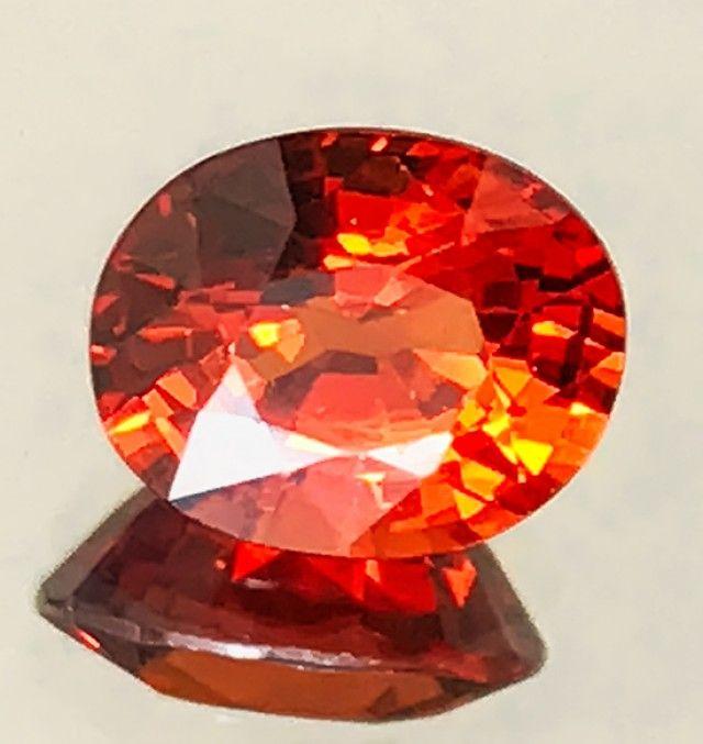 1.60ct Rich Orange Spessartite Garnet VVS gem