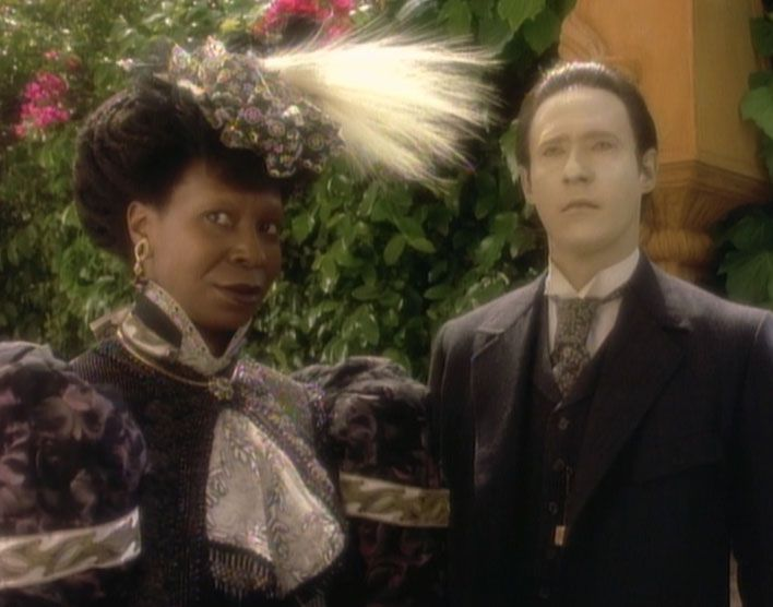 Guinan and Data - Memory Alpha, the Star Trek Wiki