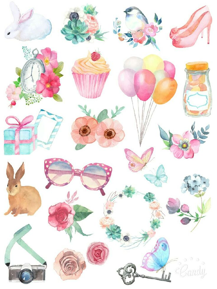 Secret Garden - sticker printable #sticker#printable#free#beauty#scrapbooktools#diy#handmade#candycameraapp
