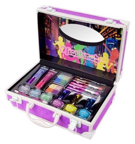 #purple #color #maletin #fluor #neon #maquillaje #makeup