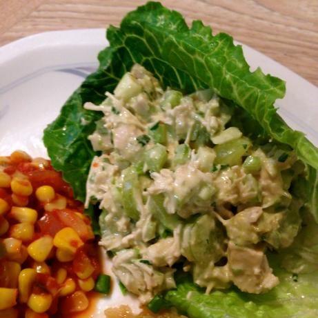 Emerald Chicken Salad | Recipe
