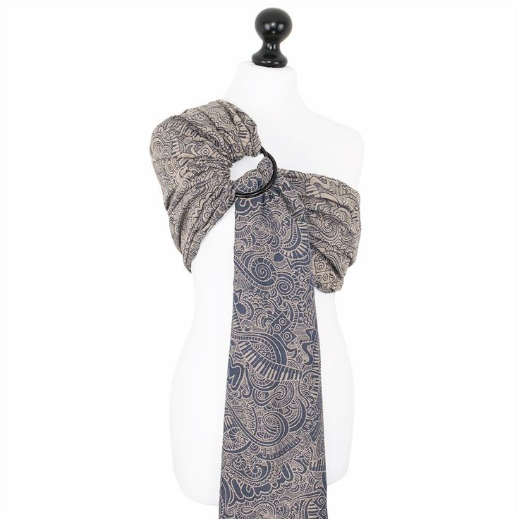Fidella baby wrap - Music Vibes - beige - ring sling