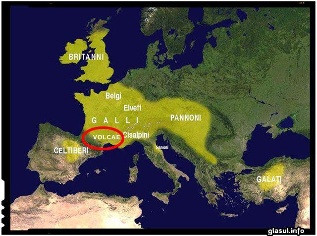 Vlah - istoria unui nume legata de tribul celt volcae