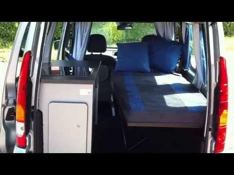 Citroen Berlingo / Peugeot Partner BOOT CAMPER design & construction - YouTube