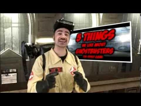 News Videos & more -  Video Games - 5 Things We Like/Hate About Ghostbusters: The Video Game! #Video #Games #Youtube #Music #Videos #News