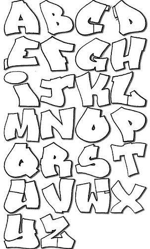 letras para graffitis. - Taringa!