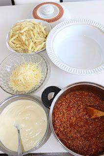 Μυρωδιές και νοστιμιές: Πένες με κιμά και μπεσαμέλ στον φούρνο