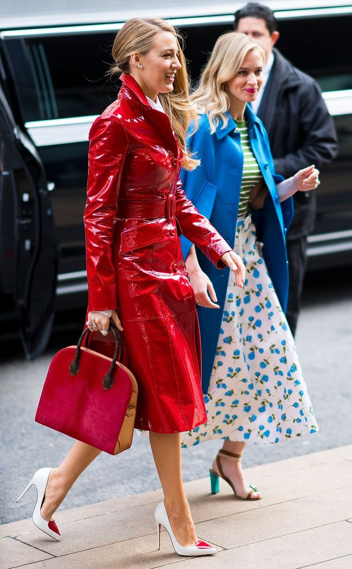 If Serena van der Woodsen were to attend the Michael Kors show in 2018 on Valentine's Day this is what she'd wear.