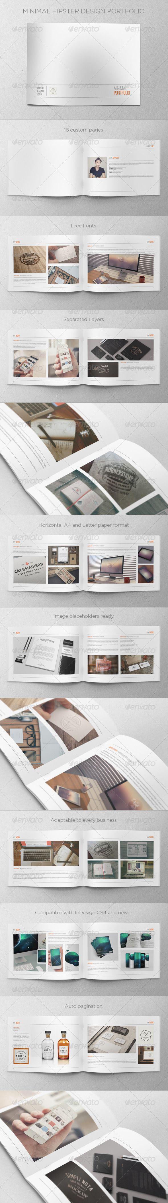 Minimal Hipster Design Portfolio
