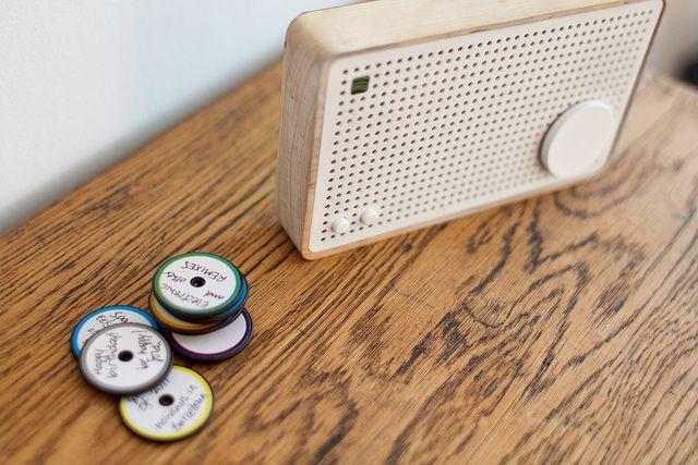 Spotify Box makes streaming music tactile.