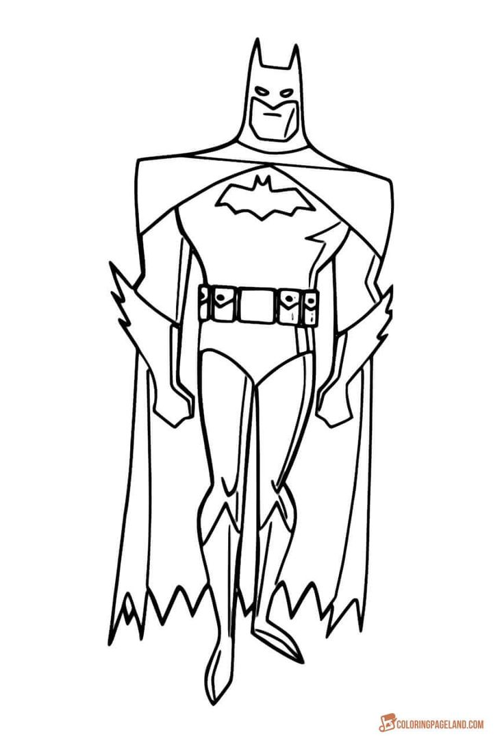 32 Best Batman Coloring Pages Images On Pinterest