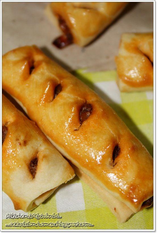 Baked Sardine Roll