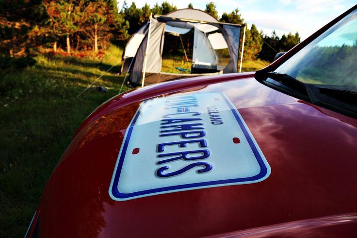 Camping in Iceland. Iceland campervan rental.