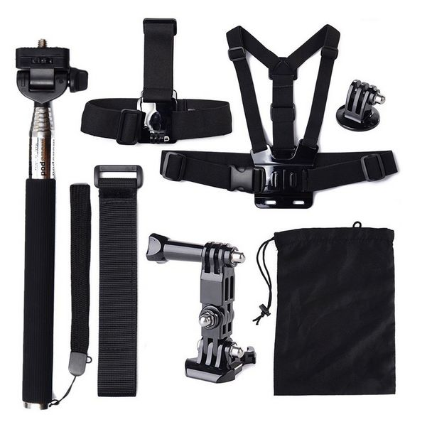 7pcs Accessories Kit for GoPro – Camera Gear Store