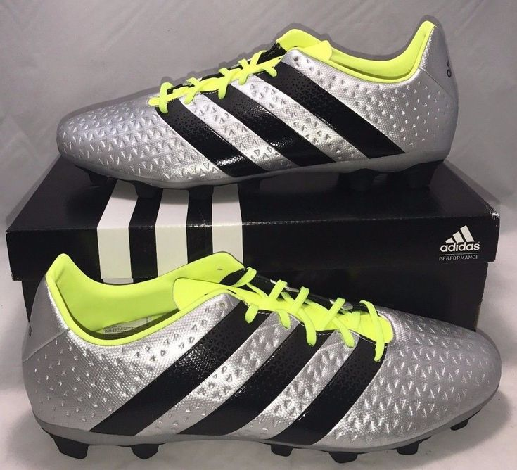 Adidas Mens Size 11 Performance Ace 16.4 Fxg Soccer Cleats Messi Shoes Silver