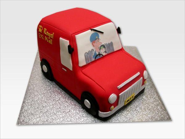 Postman Pat Van - Cakes For Both Boys & Girls - Munch@Coughlans