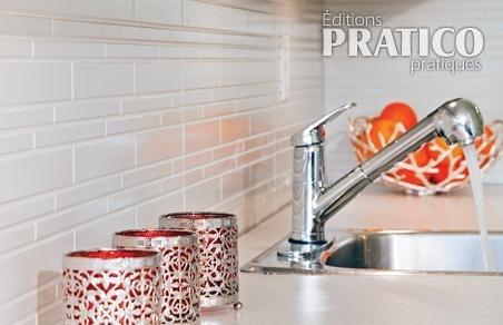 Comment poser un dosseret dans la cuisine - 10 idées pour habiller le dosseret de cuisine - Décoration - Pratico Pratiques