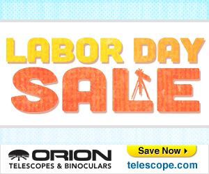 Enjoy incredible savings during the Labor Day sale at Orion Telescopes &…