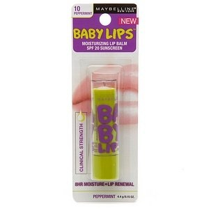 maybeline baby lips lip balm...LOVE this stuff!!!: Lip Balm, Baby Lips, Babies, Lips Balm, Lips Moisturizer, Moisturizer Lips, Peppermint, New York, Maybelline