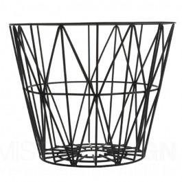 Benötigen Sie einen Aufbewahrungskorb für Kaminholz, Decken, Kissen, Wolle, Zeitschriften, Spielzeug oder Wäsche – um nur einige Beispiele der Verwendungszwecke dieses multifunktionellen Drahtkorbes zu nennen. Der Wire Basket von Ferm Living ist die optimale Erfindung für jedes Interieur! Sie können diesen Wire Basket zelbst umgekippt als Hocker oder Beistelltisch benutzen. Oder, wenn Sie sehr kreativ sind, können Sie den Wire Basket sogar als Lampenschirm verwenden. Der Wire Basket ist…
