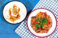 Kolay Mutfak Çorbası & Sebzeli Buğday Pilavı