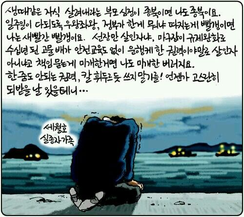 #Sewol  every reason by adult in S.Korea  incl. me
