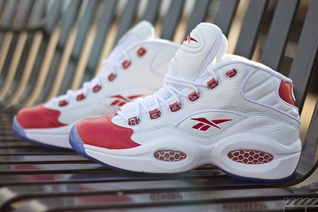 New pics of the Reebok Questions are up on our Sneaker Freaker website. Check them out!