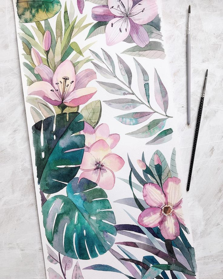 Ekaterina Sava On Instagram New Watercolour 38x56cm Watercolor