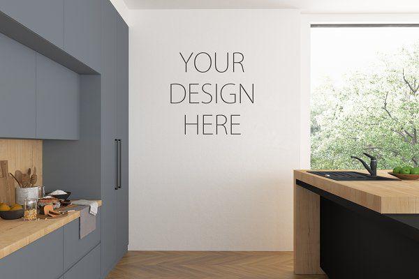 Interior Mockup Kitchen Mock Up Mock Ups Pinterest Mockup