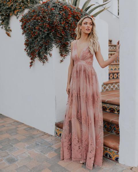 d9fee6dbd98 PREORDER - Antonia Maxi Dress - Mauve in 2019