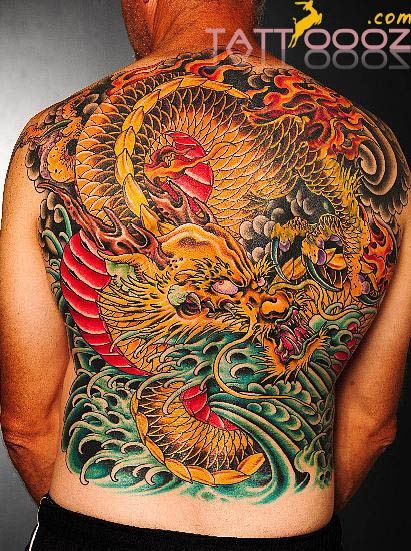 29 best japanese dragon tattoo back images on pinterest asian tattoos body mods and cool tattoos. Black Bedroom Furniture Sets. Home Design Ideas