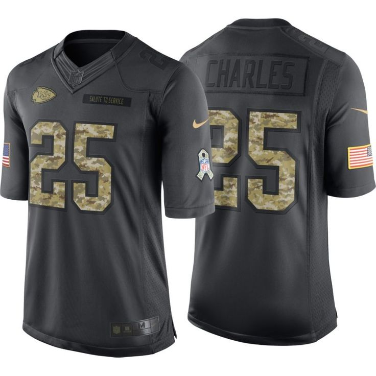 ... Stitched NFL Limited Salute To Service Tank Top nike mens home limited  jersey kansas city jamaal charles 25 salute to service 2016 ... 0ad90dd15