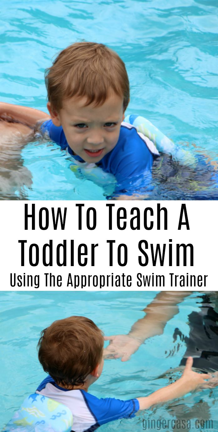 It's important to teach even the youngest child how to swim...and it's made easier with swim stages and swim trainers from SwimWays. AD