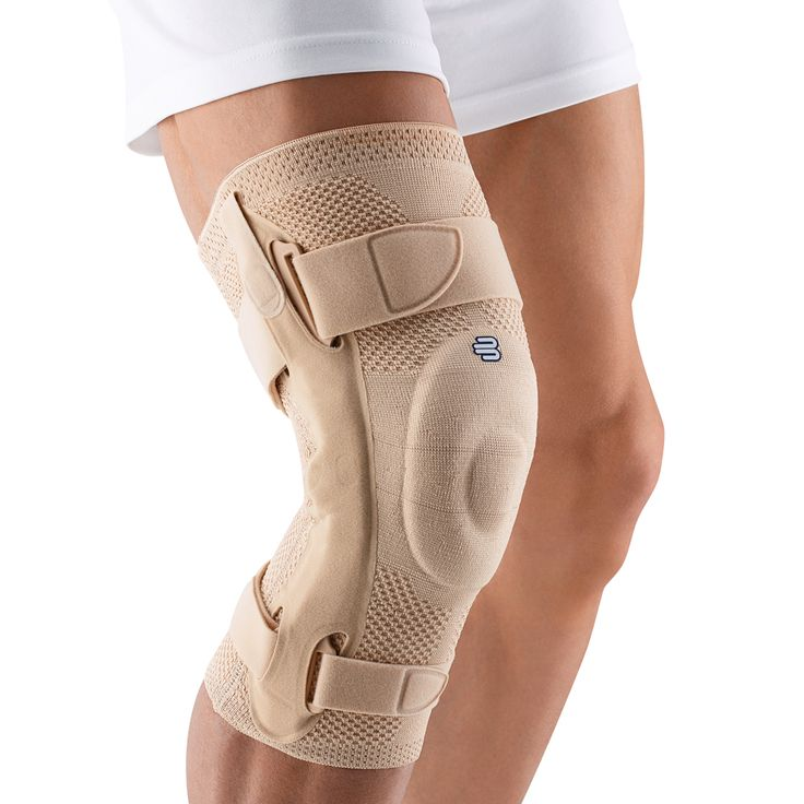 $184.95 Bauerfeind's GenuTrain S® knee brace provides reliable support for Arthritis, sprains (MCL/LCL), advanced knee sprains, instabilities, and meniscus tears. Learn more: