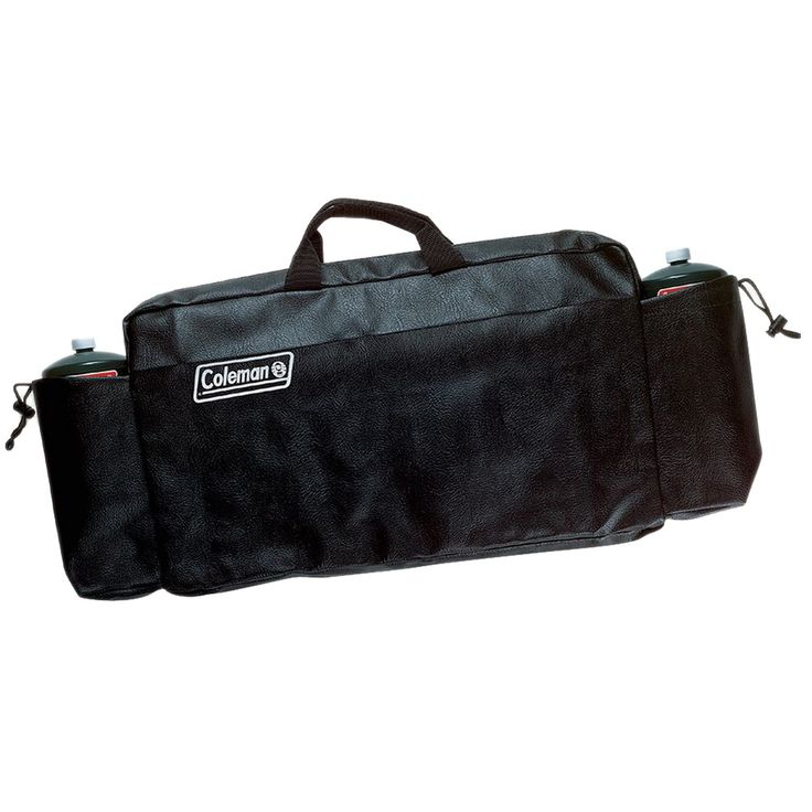 Coleman Propane Stove, Grill Stove and Camp Grill Carry Case, Black