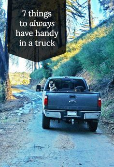 With great power comes great responsibility, so they say. Here are things you should always keep on-hand in your truck so you don't wind up in an awkward spot