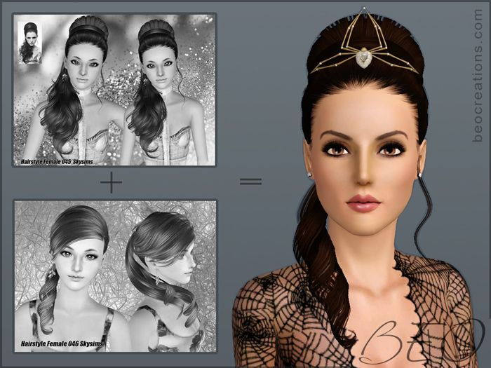 hairstyles for Sims 3 by BEO