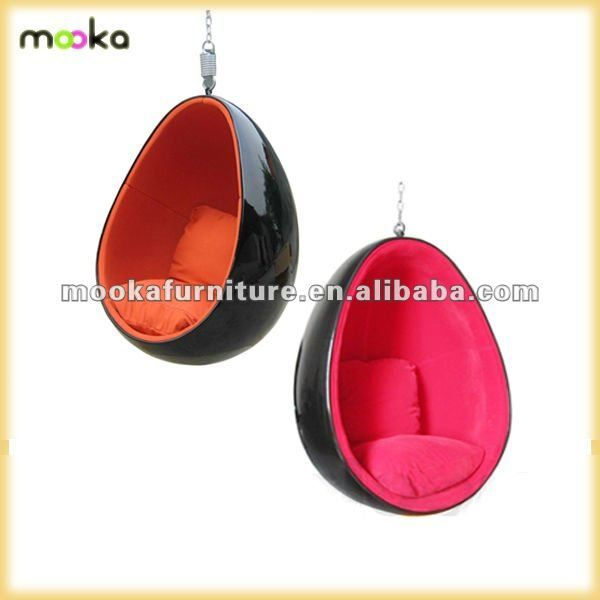 123 best images about egg bubble chairs on pinterest for Diy hanging egg chair