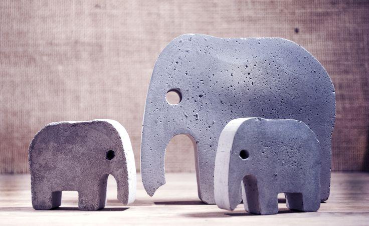 Concrete Elephants