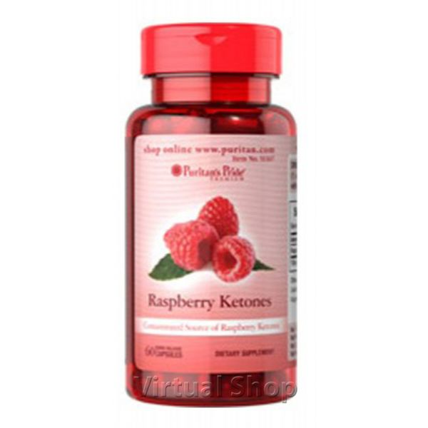 Raspberry ketones Cetonas de frambuesa 500 mg X 60 Caps $60,000