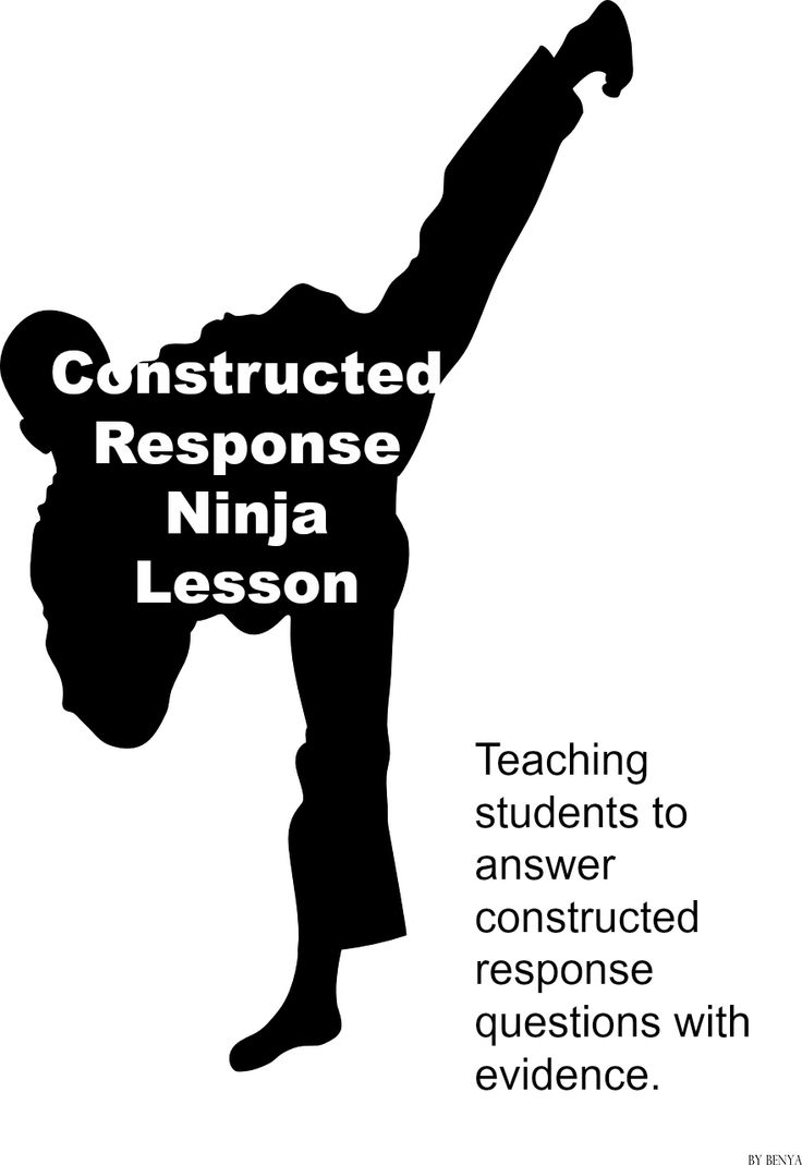 Slices of the Teaching Life: Constructed Response Ninjas